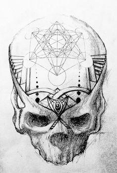 metatron skull 2 skull series #2