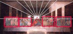Leonardo Da Vinci - La ultima cena Piramides, grupos de 3, 3+3+3+3+1 = 13 Last Supper Art, Art Rules, Figure Of Speech, Georges Seurat, Rule Of Thirds, Spanish Painters, Magritte, Dutch Artists, Pointillism