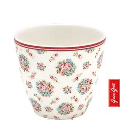 Greengate latte cup Millie white