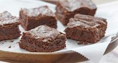 Gluten-Free Fudgy Brownies: Brownies are a welcome treat at almost any occasion. These rich and fudgy gluten-free brownies are as good as traditional version.
