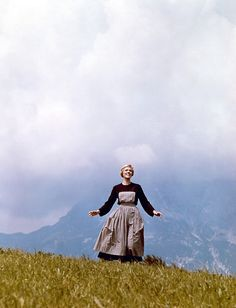 """The Sound of Music"" (19650 ~ directed by Robert Wise and starring Julie Andrews and Christopher Plummer."