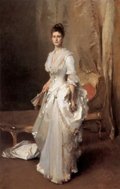 Mrs Henry White 1883  // by John Singer Sargent,  Corcoran Gallery of Art, U.S.