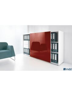 VALDE Countertop Curved Reception Desk, High Gloss Lime by MDD Office Furniture | SohoMod.com