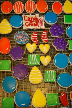 Candy Crush Saga Cookies
