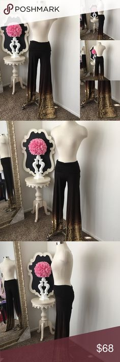 🌺 MKC  Brown Ombré Pants w/ Snake Print 🌺 MKC - Marisa Kenson Collection  Gorgeous Brown Ombré Pants w/ Snake Print Bottom Design - Fold Over Waist - Wide Bottom Style  Pants are not Lined  $88 New  Size: X- Small  Fabric : Spandex Blend  🌺 Accessories Not Included But Are also for Sale  Please Check out my Other Items in my GIRLe B Posh Shoppe'  Like us on FB   www.facebook.com/girleboutique Thanks For Looking & Always Let your Clothes get All the Attention 💋 ❌⭕️, Christina GIRLe…