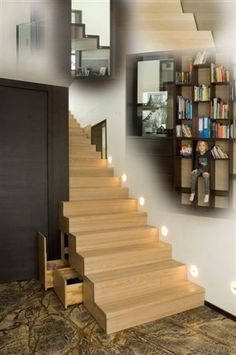 Faltwerkstiege #faltwerk #stiege #treppe #glas #holz #innendesign #interior Stairs, Home Decor, Stairway, Corning Glass, Timber Wood, Decoration Home, Room Decor, Staircases, Home Interior Design