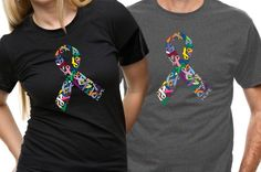 Ribbon of Hope T-Shirt (Multi-Colored)