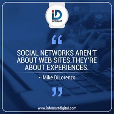 Social Network is not just for Website but its core purpose is to engage users and create a delighting experience for them INFOMART 80809 20709 Building Companies, Brand Building, Social Networks, Social Media, In Mumbai, Web Development, Digital Marketing, Purpose, Core