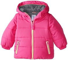 Carters Baby Girls Heavyweight Jacket Pink 12 Months *** Visit the image link more details. (This is an affiliate link) Toddler Girl Outfits, Toddler Girls, Baby Girls, Baby Girl Jackets, Carters Baby Girl, Infants, How To Take Photos, 18 Months, Image Link