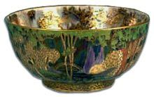 Wedgewood Fairyland Lustre Ware by Daisy Makeig-Jones who died in 1945, but her fairyland scenes have grown and continue to grow in popularity.