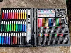 Arts And Crafts Supplies, Art Supplies, Paint Brushes, Kids Gifts, Colored Pencils, Creative Art, Markers, Amazon, Drawings
