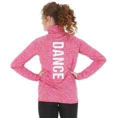 Cute and comfortable Under Armour Dance Twisted Tech Zip will be your next favorite layering piece. It has a softer, more natural feel for incredible comfort. Drop-tail hem for extra coverage. Deep 1/4 zip front with standard collar and zipper. #underarmour #dance #dancer