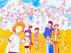 Illustrations appear in the CCS games. Sakura and the Sports Day of Flowers Cardcaptor Sakura, Syaoran, Manga Anime, Anime Art, Clow Reed, Gakuen Babysitters, Xxxholic, Card Captor, Clear Card