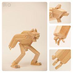 diseño de personajes, juguetes de madera, hechos a mano 100% madera reciclada...