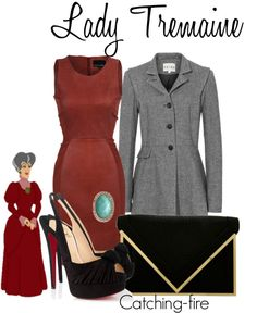 """""""Lady Tremaine"""" by catching-fire ❤ liked on Polyvore"""