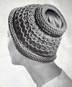 rowan pony tail hat - free pattern