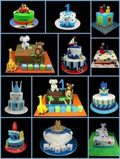 ideas about 1st Birthday Cakes