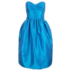 Turquoise Bell Shape Party Prom Dress | Style Icon`s Closet