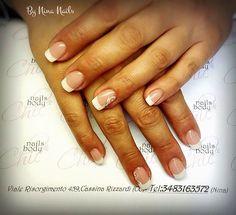 White french by Nina Nails