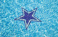 Pool Mosaic built by Blue Haven Pools Dallas