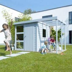 Casuta din lemn  pentru copii. O solutie pentru a-i determina pe cei mici sa se joace afara, la soare!!! www.rollux-construct.ro