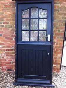 Doors on pinterest exterior doors cottage style and for Cottage style front doors
