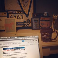 """mollyberries: """"Happy 1st day of @cbusmarathon registration! Committed to one of my favorite fall races yet again, can't get enough of you Columbus! #CMnation Reppin' Westerville, OH"""""""