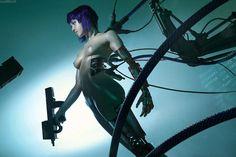Motoko Kusanagi cosplay 1 by Adelhaid | Ghost in the Shell, Cyberpunk