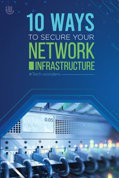 10 Ways to Secure Your Network Infrastructure tech-wonders.com/?p=23259 | #SecureNetworkInfrastructure #NetworkSecurity #NetworkInfrastructure #ITNetwork #ITSecurity Software Security, Computer Security, Security Tips, Network Infrastructure, It Network, Tech, Technology