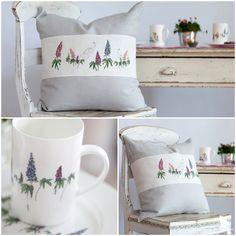 """Aus dem Buch """"Claras Geschichten"""" #acufactum #regnerischetage #gemütlich #sticken #kreuzstich #sommer #schön #kissen #rainydays #cozy #embroider #crossstitch #summer #pretty #pillow Needlework, Shabby Chic, Cross Stitch, Throw Pillows, Embroidery, Punto De Cruz, Toss Pillows, Dots, Cross Stitch Heart"""