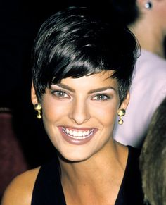 LINDA EVANGELISTA, 23: THEN Canadian-born Evangelista got her start when she was spotted by a talent agent at a Miss Teen Niagara pageant in 1978. Ten years later, she lost a number of major runway bookings when she suddenly swapped her then-shoulder-length hair for a boyish, close-cropped style, but her ever-changing 'do eventually became her trademark. A face of Revlon, Donna Karan, and Versace.