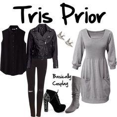 Tris Prior Divergent Possible Love it! Divergent Costume, Divergent Outfits, Divergent Fashion, Fandom Outfits, Dauntless Outfit, Tris Prior, Movie Inspired Outfits, Disney Bound Outfits, Fandom Fashion