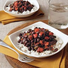 Cuban Beans and Rice recipe