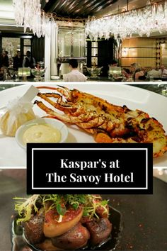 Kaspar's Seafood Bar and Grill at the Iconic Savoy Hotel, London