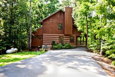 Garden Of Eden - This cozy cabin nestled in the woods is perfect for a romantic stay in the Smoky Mountains! Click here to see more: http://www.hearthsidecabinrentals.com/cabins/garden-eden/