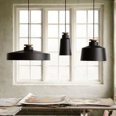 Industrie-Leuchten mit modernem Charme