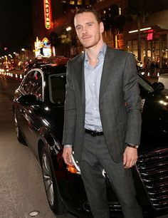 Michael Fassbender! You know it, I know it, let's just get outta here.