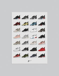 Image of ★ UPDATED ★ Ultimate NMD Collection Print