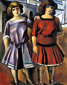 Girls, 1925 by Andre Lhote (French 1885-1962) ~Repinned Via Socorro Matos