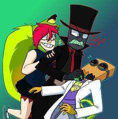 Demencia, Black Hat and Dr Flug ( Villainous )