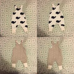dd3c77430 Whale Harem Romper, Jersey Harem Romper, Reversible Baby Romper, Sizes  Newborn to 2 years, Last Chance, Made to order,