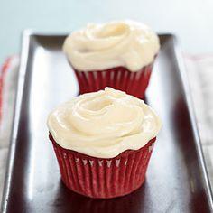12 Best Cupcake Recipes   Red Velvet Cupcakes   CookingLight.com