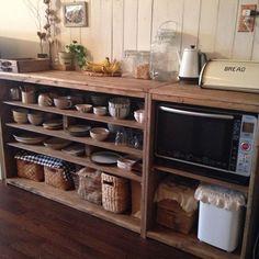 おはようございます♪すこし前になるのですがブログに、書いていなかったので記録としてここに♪以前つくった食器棚食器棚DIY~下準備編①食器棚②~組み立て編とBe…
