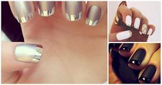 Check out these gorgeous French tip manicures! They're not what you expect.