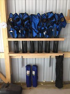 Great Idea for garage storage!