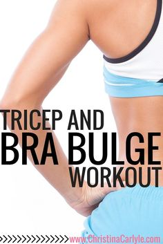 Upper Body Workout for Women that targets the bat wing/bra strap fat area
