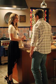 Still of Justin Deeley and AnnaLynne McCord in 90210