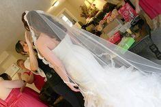 Veil by Bel Aire bridal.
