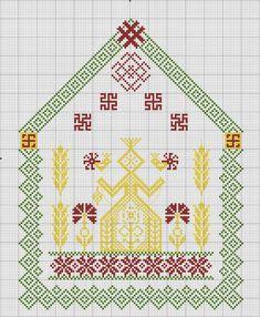 Схема вышивки «Макошь» - Вышивка крестом