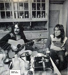 George with Alvin Lee of Ten Years After